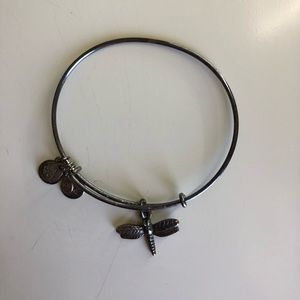 Alex and Ani (silver, dragonfly)